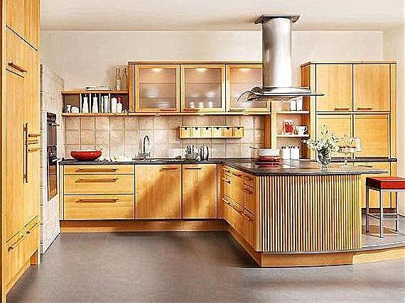 Holzküchen erle  BAX-Musterküche Massivholzküche: Ausstellungsküche in Verl von ...