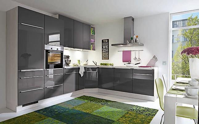 burger musterk che lackierte front ausstellungsk che in bielefeld von wohnconcepte. Black Bedroom Furniture Sets. Home Design Ideas