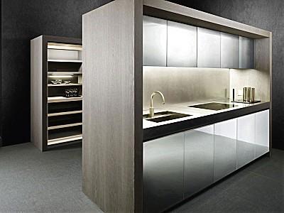 Pure Eleganz - modernes Küchenkonzept von Armani/Dada