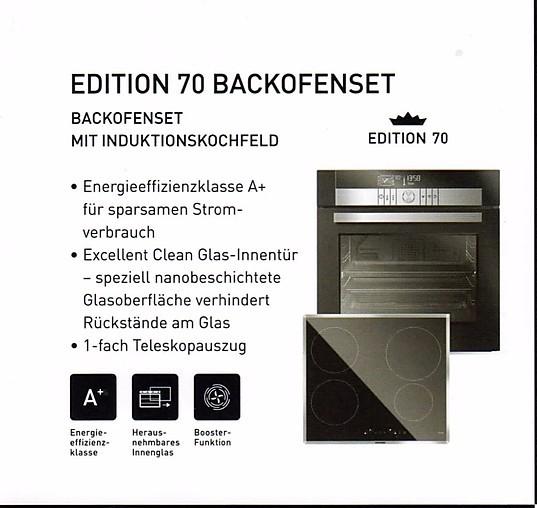 herdset edition backofen set mit induktionskokochfeld a grundig k chenger t von unikat k chen. Black Bedroom Furniture Sets. Home Design Ideas