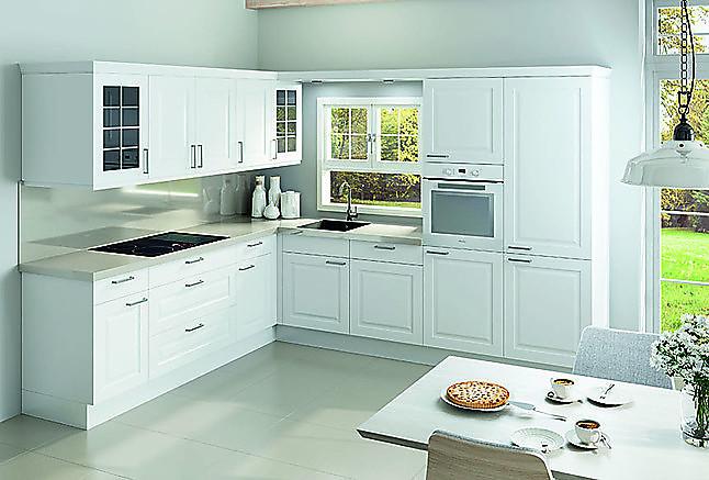 nobilia musterk che landhausk che klassisch modern wei. Black Bedroom Furniture Sets. Home Design Ideas