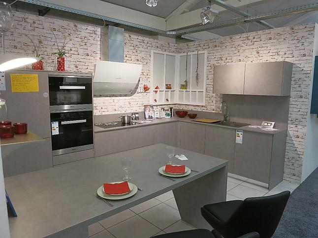 sch ller musterk che einbauger te von miele inkl dampfgarer grifflose ausstellungsk che. Black Bedroom Furniture Sets. Home Design Ideas