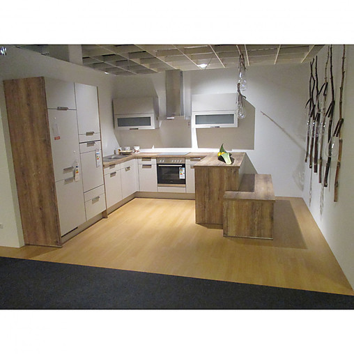 nobilia musterk che feel einbauk che in u form. Black Bedroom Furniture Sets. Home Design Ideas