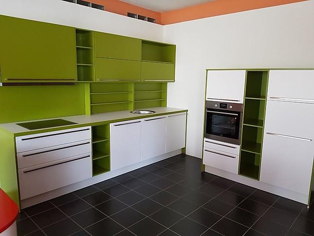 Nobilia-Musterküche Moderne zwei Zeilen Küche: Ausstellungsküche in ...