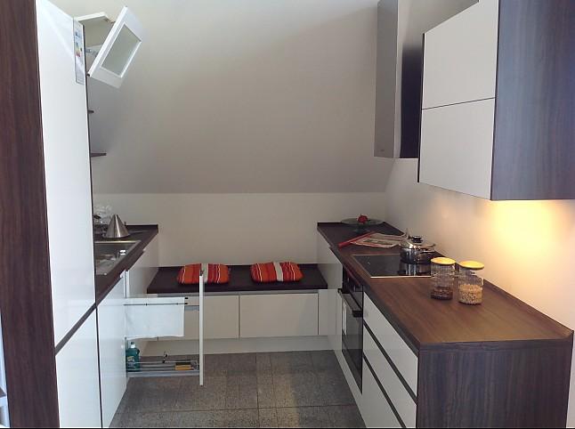 nobilia musterk che nobilia primo mit griffleiste ausstellungsk che in erftstadt von. Black Bedroom Furniture Sets. Home Design Ideas