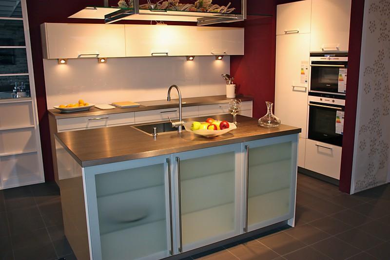 h cker musterk che mk 57 ausstellungsk che in uhingen von k chen kompetenz center. Black Bedroom Furniture Sets. Home Design Ideas