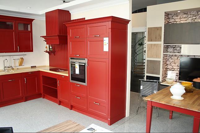 H cker musterk che echtholz landhaus mit quartz composite for Arbeitsplatte echtholz