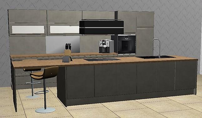 nobilia musterk che eine symbiose von qualit t design und funktionalit t k che mit insel in. Black Bedroom Furniture Sets. Home Design Ideas