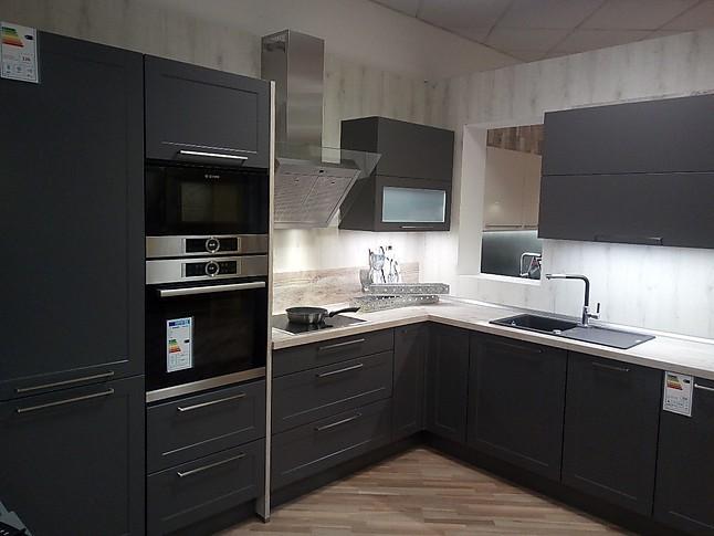 nobilia musterk che elegantes schiefergrau trifft eiche yukon moderne rahmenoptik kombiniert. Black Bedroom Furniture Sets. Home Design Ideas