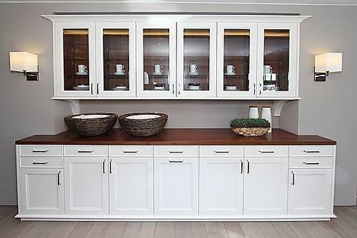 Moderne landhausküche siematic  SieMatic-Musterküche Moderne Landhausküche: Ausstellungsküche in ...