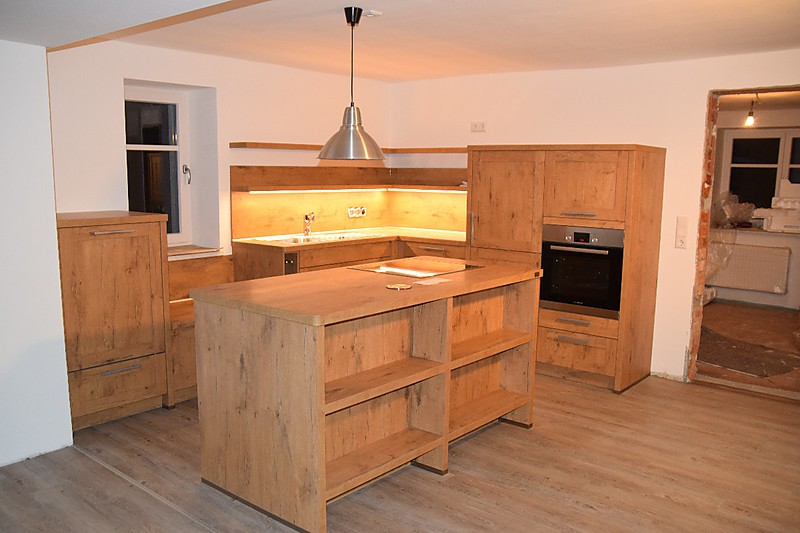 einbauk che rahment r wild oak. Black Bedroom Furniture Sets. Home Design Ideas