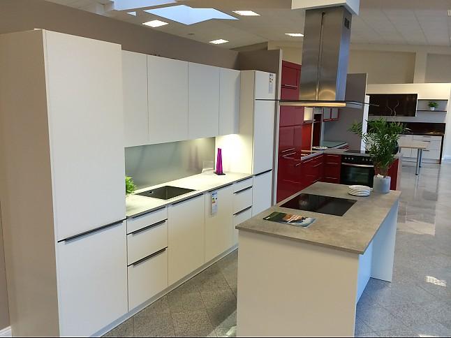Störmer Küchen störmer küchen-musterküche störmer magnolie samtlack