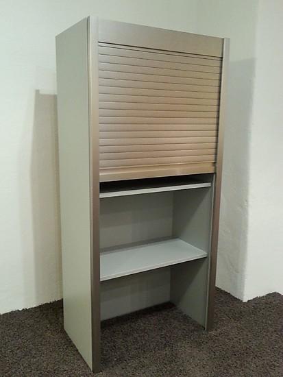 impuls musterk che aufsatzschrank mit rolladen 1288mm hoch ausstellungsk che in neumarkt in. Black Bedroom Furniture Sets. Home Design Ideas