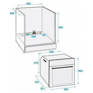 backofen oim 25500 xp backofen mit pyrolyse beko k chenger t von in. Black Bedroom Furniture Sets. Home Design Ideas