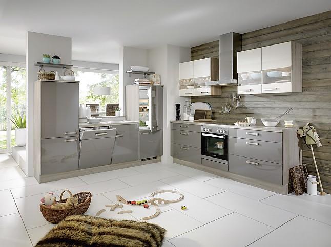 2 Zeilen Küche