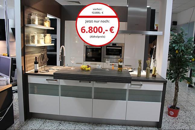 Nobilia Musterkuche Luxus Einbaukuche Inkl Bosch Elektrogerate