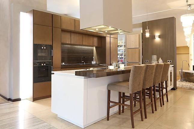 zeyko musterk che moderne k che oberfl che metallspachteltechnik weiss matt lackiert. Black Bedroom Furniture Sets. Home Design Ideas