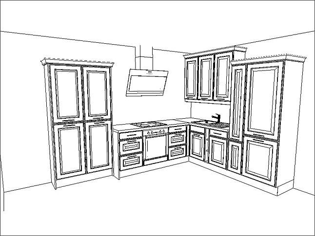 burger musterk che moderne landhausk che. Black Bedroom Furniture Sets. Home Design Ideas