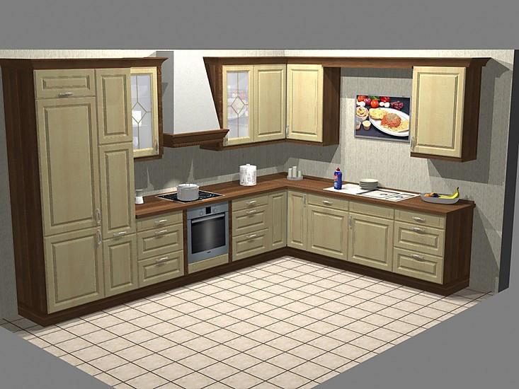 nobilia musterk che landhausk che ausstellungsk che in krefeld von k chen palast. Black Bedroom Furniture Sets. Home Design Ideas