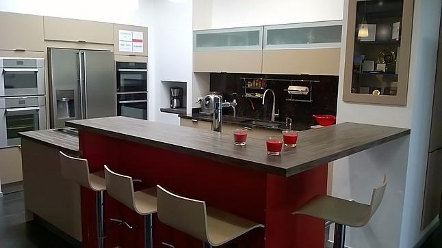 Schmidt Küchen   Loft E130 Micron Moderne Küche In Micronlack Matt Mit Theke