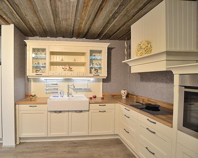 h cker musterk che h cker landhausk che magnolie esche lackiert mit bosch liebherr. Black Bedroom Furniture Sets. Home Design Ideas