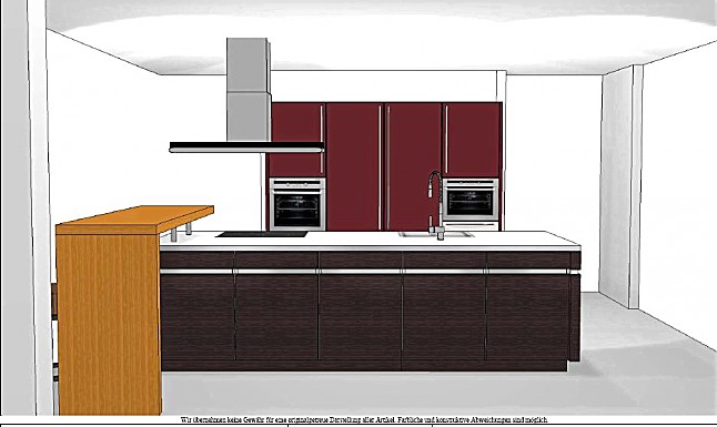 leicht musterk che leicht musterk che grifflos ausstellungsk che in overath von k chenhaus. Black Bedroom Furniture Sets. Home Design Ideas
