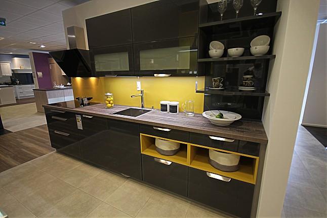 hausmarkemusterküche moderne küche in metallic hochglanz