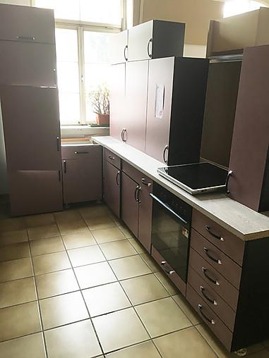 Hausmarke-Musterküche Küche Fliederfarben / gebrauchte Küche ...