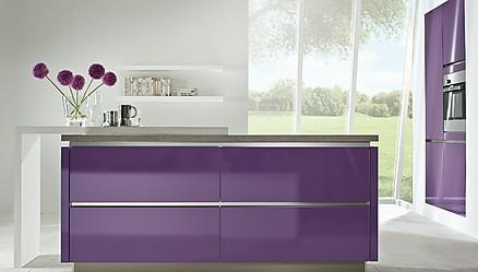 Moderner Küchenblock