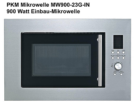 PKM Mikrowelle MW900-23G-IN - MW900-23G-IN