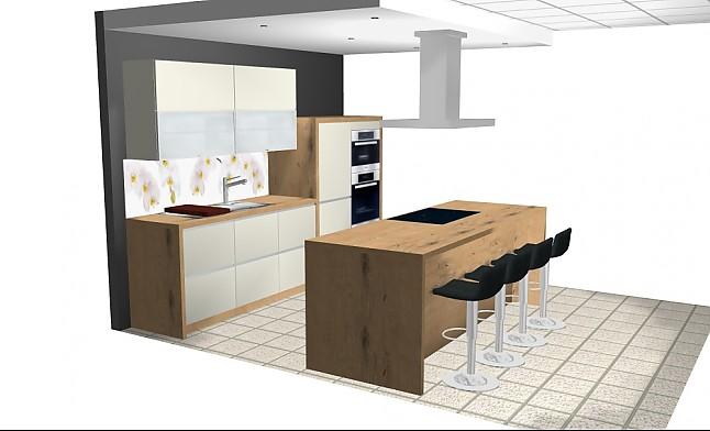schmidt k chen musterk che muster 9 ausstellungsk che in stuttgart untert rkheim von k chen. Black Bedroom Furniture Sets. Home Design Ideas