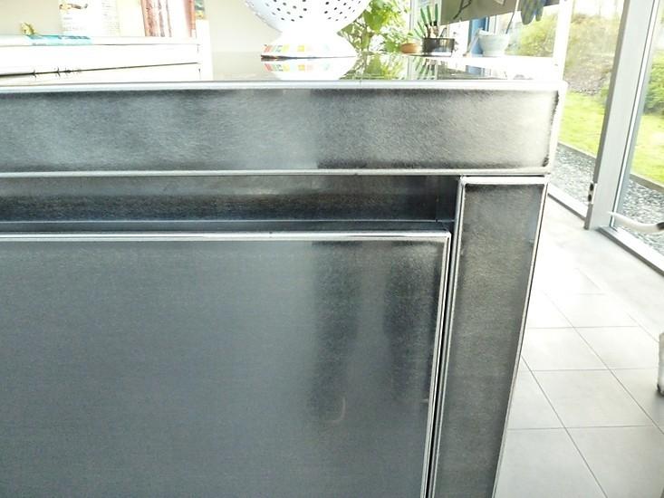 Kücheninsel Entfernung ~  musterküche grifflose kücheninsel aus toughsteel block aus schwarz gefärbtem edelstahl 280 x