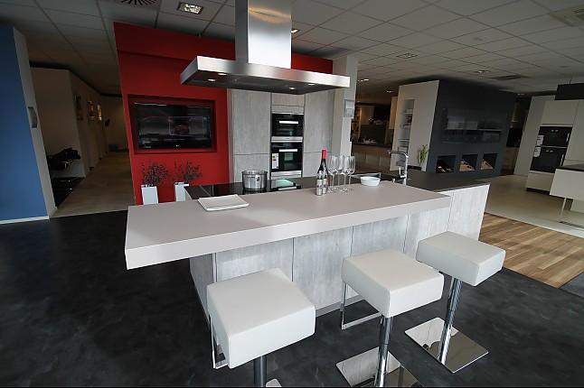 Hausmarke-Musterküche Küche In Beton-Optik
