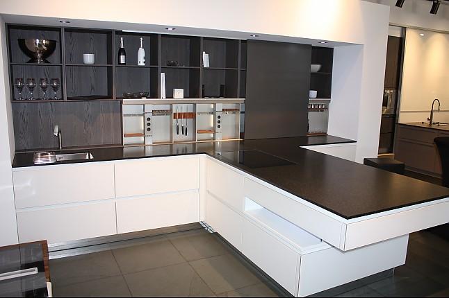 pronorm musterk che glassline ausstellungsk che in karlsruhe von k che genuss. Black Bedroom Furniture Sets. Home Design Ideas