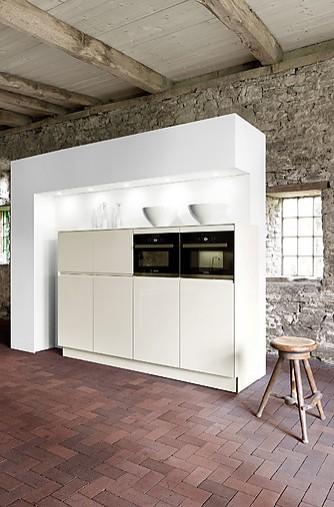 h cker musterk che h cker systemat modell av5025 grifflose designk che mit bosch loft. Black Bedroom Furniture Sets. Home Design Ideas