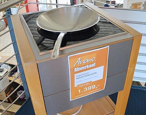 Musterkuchen aviano kuchenstudio in burgoberbach for Induktions wokpfanne