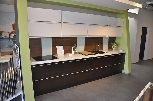 Büro küche design  Schüller-Musterküche moderne Büroküche: Ausstellungsküche in ...