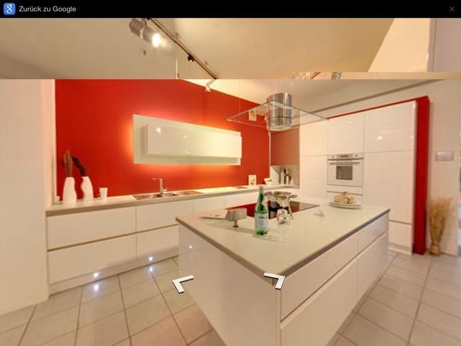 schmidt k chen musterk che grifflos hochglanz farbe. Black Bedroom Furniture Sets. Home Design Ideas