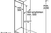 k hlschrank einbau k hl gefrier kombination ki86vvs30 nische 178 siemens k hl gefrierkombination. Black Bedroom Furniture Sets. Home Design Ideas