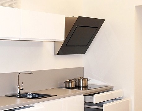 dunstabzug kopffrei designhaube falmec quasar 90 schwarz modelljahr 2014 f r abluft und umluft. Black Bedroom Furniture Sets. Home Design Ideas