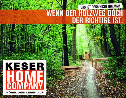 Holzweg Keser