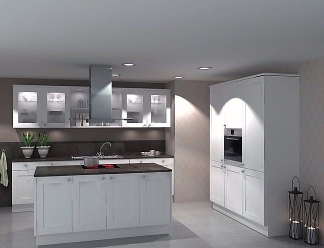 Nolte einbauküche lack hochglanz grau u form inkls e geräte details ansehen · einbauküche landhausküche inselküche weiß lack matt