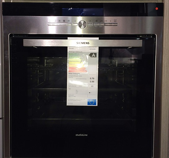 Backofen studioline hb78a4580 backofen siemens for Siemens studioline backofen