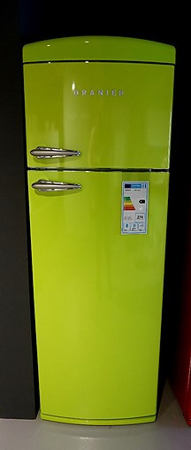 Oranier Retro Kühlschrank Freistehender Kühlschrank Im Angesagten Retro Look