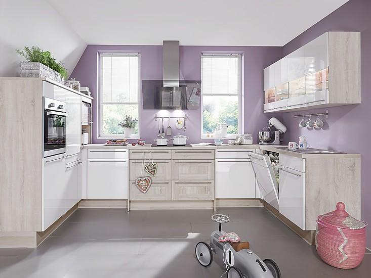 nobilia musterk che k che in u form ausstellungsk che in. Black Bedroom Furniture Sets. Home Design Ideas