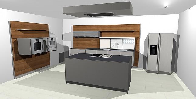 bulthaup musterk che schwebende bulthaup k che. Black Bedroom Furniture Sets. Home Design Ideas
