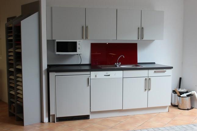 Büroküche  Hausmarke-Musterküche Büroküche: Ausstellungsküche in Halle ...