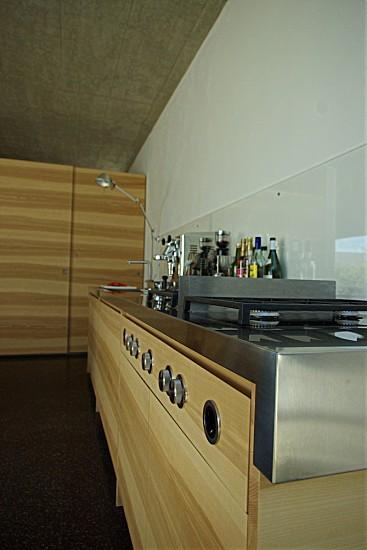 edelstahl arbeitsplatte mit bora k che von familie b. Black Bedroom Furniture Sets. Home Design Ideas