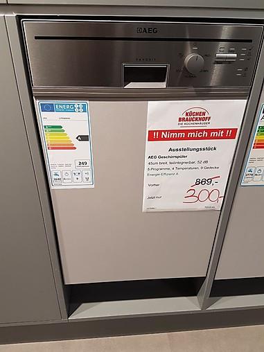 Spulmaschine F35400im0 Einbau Geschirrspuler Aeg Kuchengerat Von
