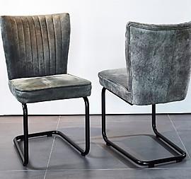 6 Stühle, Freischwinger